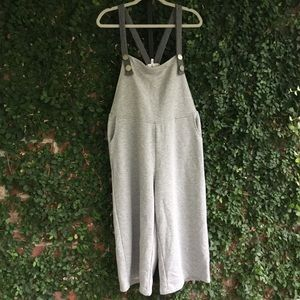 Anthropologie Out From Under Gray Overalls M/L
